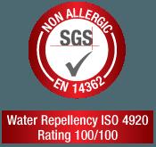 Sello de Certificación SGS Non Allergic